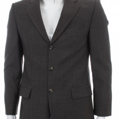 Sacou barbati Hugo Boss 100% lana virgina, Marime: 52, Culoare: Khaki