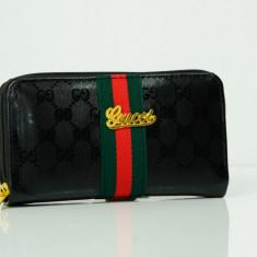 Portofel Gucci - compartiment dublu - piele ecologica + Cadou Surpriza - Portofel Dama Gucci, Culoare: Din imagine