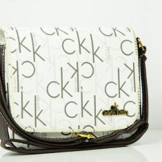 Geanta / Borseta de umar sau sold Calvin Klein CK + Cadou Surpriza - Geanta Dama Calvin Klein, Culoare: Din imagine, Marime: One size, Geanta de umar, Asemanator piele