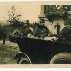 1280 - Maramures, SIGHET WW I, Officers on the front line - old PC unused - 1917 - Carte Postala Maramures 1904-1918, Necirculata, Printata