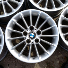 JANTE ORIGINALE BMW 16 5X120 5BUC - Janta aliaj, Latime janta: 7, Numar prezoane: 5