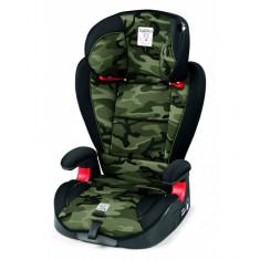Scaun auto 15-36 kg Viaggio Surefix Camouflage Green Peg Perego - Scaun auto copii grupa 1-3 ani (9-36 kg)